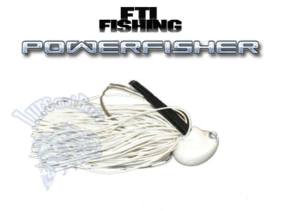 FTI FISHING JIG FTI POWERFISHER 1/2Oz.  #White